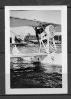 """2 PHOTOS HYDRAVION """" F-AIYN """" - SCHRECK FBA 17 HT4 DU 08 MATS 1929 - BASE A ANTIBES. - Aviation"""