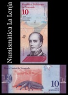 Venezuela 10 Bolívares 2018 Pick 103 SC UNC - Venezuela
