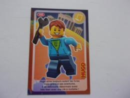Carte LEGO AUCHAN CREE TON MONDE N°143 Hugo Outil - Autres Collections