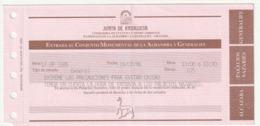 TICKET - ENTRADA / CONJUNTO MONUMENTAL ALHAMBRA Y GENERALIFE - JUNTA ANDALUCIA - 1996 - Tickets - Entradas