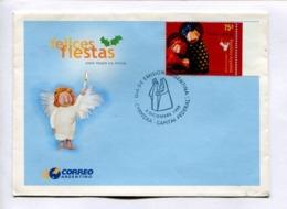 NAVIDAD, FELICES FIESTAS - HAPPY HOLIDAYS. ARGENTINA 1999 ENVELOPE FDC PRIMER DIA -LILHU - Fiestas