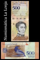 Venezuela 500 Bolívares 2018 Pick 108b SC UNC - Venezuela