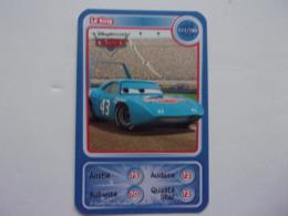 Carte Disney AUCHAN Cars Le King Carro Auto Car Voiture - Autres Collections