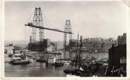 CP - MARSEILLE  - Le Vieux Port Et Le Pont Transbordeur - Vieux Port, Saint Victor, Le Panier