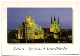 Erfurt - Dom Und Severikirche - Erfurt