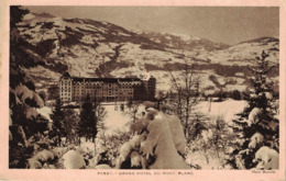 CP - PASSY - Grand Hôtel Du Mont Blanc - Passy
