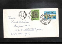 Morroco / Maroc Interesting Airmail Letter - Marruecos (1956-...)