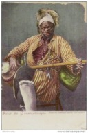 TURQUIE - Cpa Pionniére - SALUT DE CONSTANTINOPLE - UN MUSICIEN COMIQUE ARABE ( JACHABIBI) - Turquie