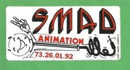 63 - CLERMONT FERRAND-  Radio SMAD Animation - Aufkleber