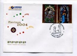 NAVIADAD 2004 CHRISTMAS NOEL. ARGENTINA 2004 ENVELOPE FDC -LILHU - Navidad