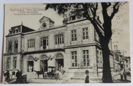 CPA Martinique Fort De France Hôtel Des Postes Et Télégraphes Animé Attelage Personnages - Fort De France