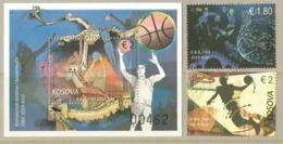 KOS 2019-11 WORLD CHAMPIONCHIP CHINA, KOSOVO, 1 X 2v + S/S, MNH - Basketball