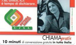 TELECOM ITALIA - CHIAMAGRATIS - CISL SISTEMA SERVIZI - NUOVA - Schede GSM, Prepagate & Ricariche
