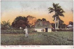 POS-1158 CUBA POSTCARD UNUSED CIRCA 1910 CAOUNTRY HOUSE, CASA CAMPESTRE BOHIO. - Cuba