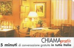 TELECOM ITALIA - CHIAMAGRATIS - RISTORANTE BELVEDERE MIGNANEGO - NUOVA - Schede GSM, Prepagate & Ricariche