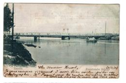 Tianjin - Tientsin - Französische Brücke - Pont Français - Circulée En 1908 - 2 Scans - Chine