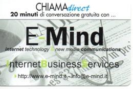TELECOM ITALIA - CHIAMADIRECT - E-MIND INTERNET BUSINESS SERVICES - NUOVA (MASTER) - Schede GSM, Prepagate & Ricariche