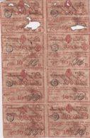 LOT-411 CUBA SPAIN (LG1819) 1815 SHEET LOTTERY SORTEO 5. 16 Vo BILLETE DE LOTERIA - Lottery Tickets