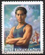 USA 2002 37¢ Duke Kahanamoku 'Father Of Surfing' - United States