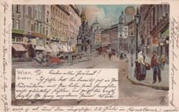 27961Wien, Graben (Briefmarke 1900) - Vienna