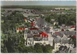 CPSM  La  Houssaye L'église  Et  Vue D'ensemble - France