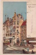 27969Wien, Am Neuen Markt (Briefmarke 1901) - Vienna