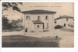 Carte De CHARANTONNAY  Place De La Bascule  ( Recto Verso ) - Autres Communes