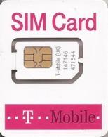 UNITED KINGDOM - GSM SIM CARD - T-MOBILE MINI - MINT - Regno Unito