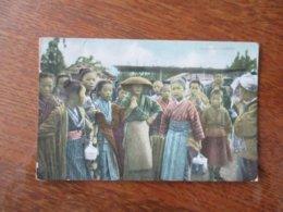 VILLAGERS JAPAN 1912 TIMBRES 5 ET 10 CENTAVOS CORREOS - Autres