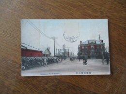 ENTRANCE OF PIER YOKOHAMA 1912 - Yokohama