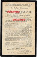 Bidprentje Theresia Buseyne Westouter 1827 En Aldaar Overleden 1908 Mortaigne Charles Loker Dranouter Kemmel - Images Religieuses