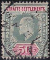 Straits Settlements   .   SG     .    135a         .      O      .     Cancelled      .   /    .  Gebruikt - Straits Settlements