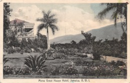 Mona Great House Hotel, Jamaica B.W.I. - Jamaica