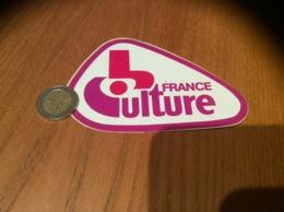 AUTOCOLLANT, Sticker «FRANCE Culture» (radio) - Autocollants