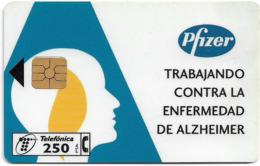 Spain - Telefónica - Pfizer - P-257 - 04.1997, 8.100ex, Used - España