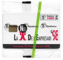 Spain - Telefónica - La Nit De L'Empresari '98 - P-357 - 10.1998, 4.700ex, NSB - España