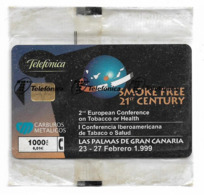 Spain - Telefónica - Smoke Free 21st Century - P-373 - 02.1999, 3.500ex, NSB - Spanien