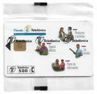 Spain - Telefónica - Tienda Telefonica - P-327 - 03.1998, 9.000ex, NSB - Spagna