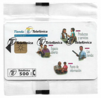Spain - Telefónica - Tienda Telefonica - P-327 - 03.1998, 9.000ex, NSB - Spanien