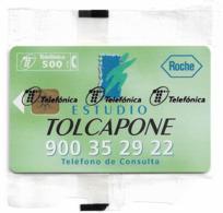 Spain - Telefónica - Tolcapone Roche - P-328 - 03.1998, 5.000ex, NSB - Spagna
