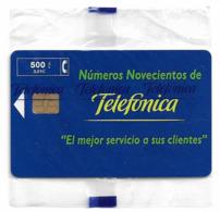 Spain - Telefónica - Telefono 900 - P-379 - 04.1999, 6.000ex, NSB - Spanien
