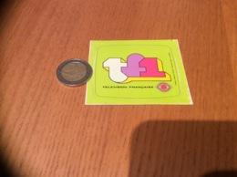 AUTOCOLLANT, Sticker «TF1 - TÉLÉVISION FRANÇAISE» - Autocollants