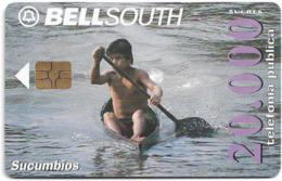 Ecuador - Bell South - Sucumbios, 20.000Sucre, Used - Ecuador