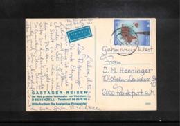 Pakistan Interesting Airmail Postcard - Pakistan