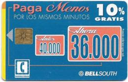 Ecuador - Bell South - Pagá Menos, Discount 10%, 36.000Sucre, Used - Ecuador