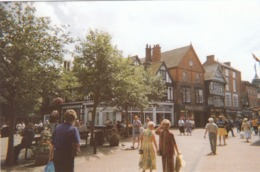 Postcard Nantwich High Street Cheshire My Ref  B23745 - Other