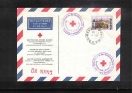 Vietnam Interesting Red Cross Ship Helgoland Letter - Vietnam