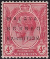 Straits Settlements   .   SG     .      255     .    *         .    Mint-hinged     .   /    .  Ongebruikt - Straits Settlements