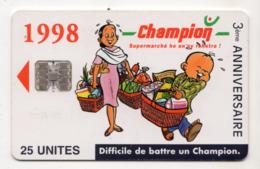 MADAGASCAR Ref MV Cards MDG-P-018 25 U CHAMPION 12000 Ex - Madagascar