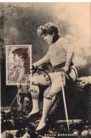 CARTE MAXIMUM  SARAH  BERNHARDT   (RARE) - Femmes Célèbres